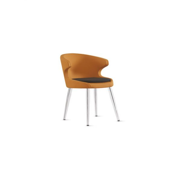 Çelikel Ofis Koket Metal Kafe Sandalyesi