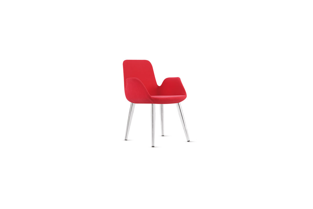 Çelikel Ofis Maki Metal Kafe Sandalyesi